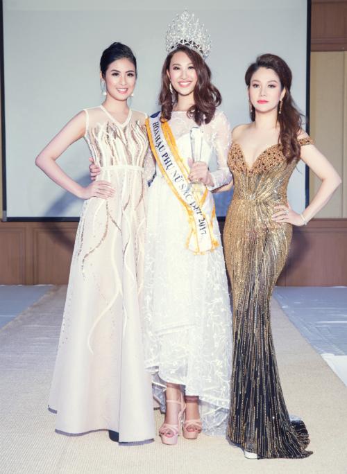Hoa hậu Xuân Hương hội ngộ Ngọc Hân tại cuộc thi nhan sắc ở Thái Lan - Ảnh minh hoạ 2