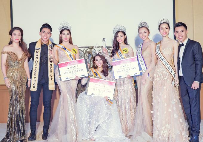 Hoa hậu Xuân Hương hội ngộ Ngọc Hân tại cuộc thi nhan sắc ở Thái Lan - Ảnh minh hoạ 5