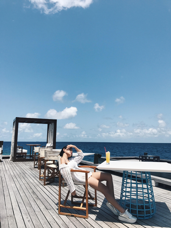 Hot girl Châu Bùi khoe body quyến rũ tại Maldives - Ảnh minh hoạ 7