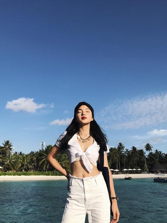 Hot girl Châu Bùi khoe body quyến rũ tại Maldives - Ảnh minh hoạ 8