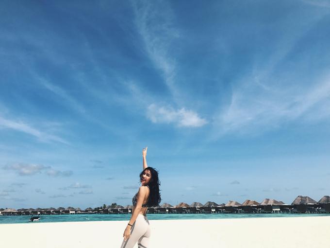 Hot girl Châu Bùi khoe body quyến rũ tại Maldives - Ảnh minh hoạ 6