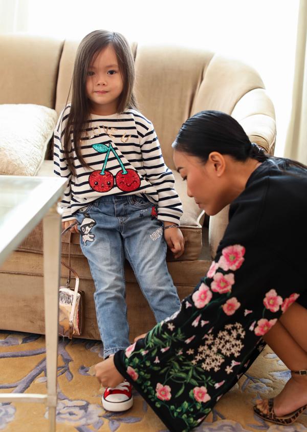 Con gái Đoan Trang sành điệu không kém mẹ - Ảnh minh hoạ 3
