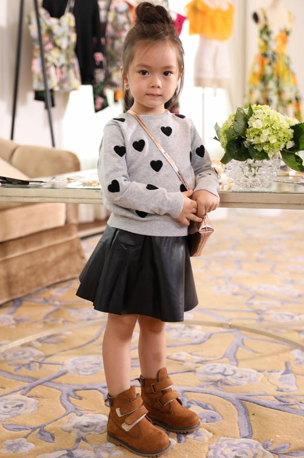 Con gái Đoan Trang sành điệu không kém mẹ - Ảnh minh hoạ 6