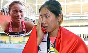 Nước mắt, nỗi buồn của các VĐV Việt ở SEA Games 29