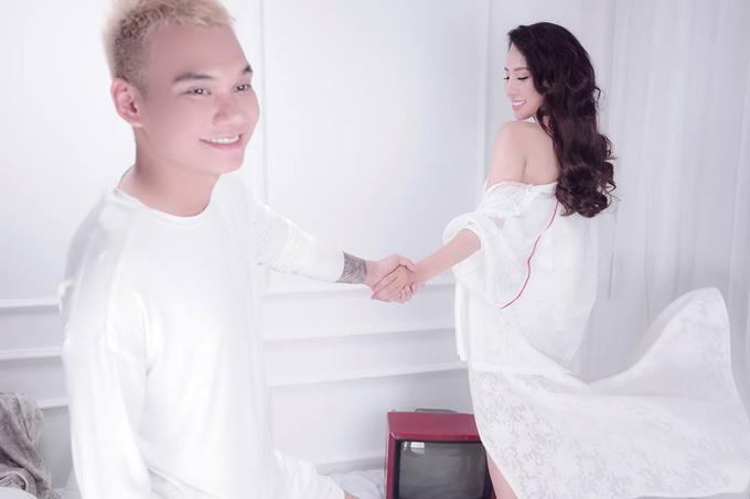 Khắc Việt và vợ sắp cưới quyến luyến nhau không rời - Ảnh minh hoạ 6