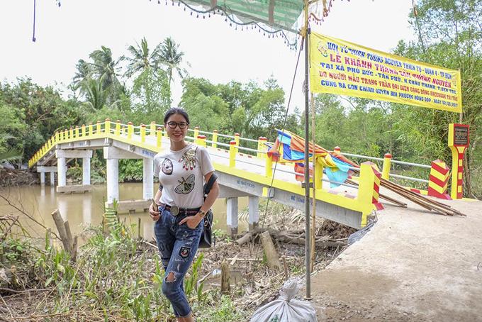 Trang Trần vận động 300 triệu xây cầu cho người dân tỉnh Bến Tre - Ảnh minh hoạ 2