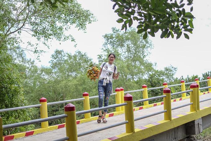 Trang Trần vận động 300 triệu xây cầu cho người dân tỉnh Bến Tre - Ảnh minh hoạ 3