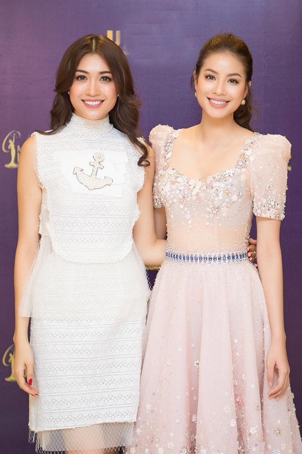 Á hậu Hoàng My về nước chấm Hoa hậu Hoàn vũ Việt Nam cùng Phan Anh - Ảnh minh hoạ 7