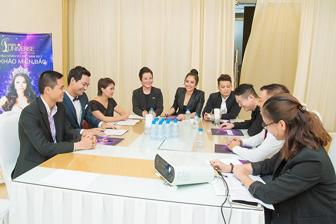 Á hậu Hoàng My về nước chấm Hoa hậu Hoàn vũ Việt Nam cùng Phan Anh - Ảnh minh hoạ 8