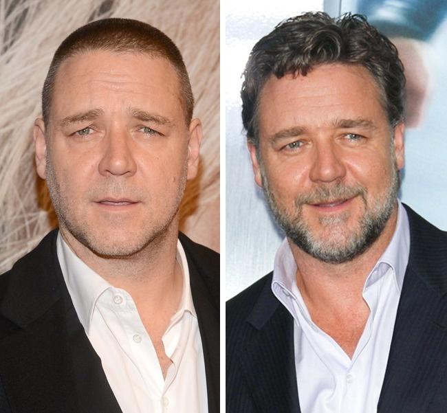 Hình ảnh của nam diễn viên Russell Crowe gắn liền với bộ râu quai nón qua nhiều bộ phim như Gladiator,