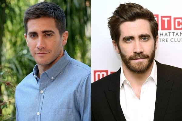Bộ râu giúp cho đôi mắt xanh của Jake Gyllenhaal càng trở nên thu hút hơn.