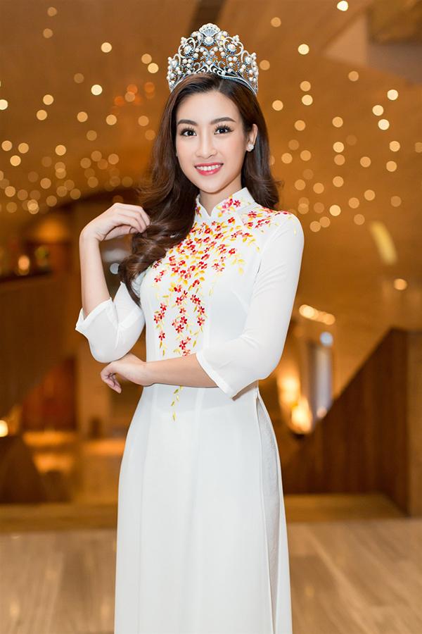 Đỗ Mỹ Linh đẹp nổi bật bên Hoa hậu Hoàn vũ Lào và Hoa hậu Toàn cầu Campuchia - Ảnh minh hoạ 4