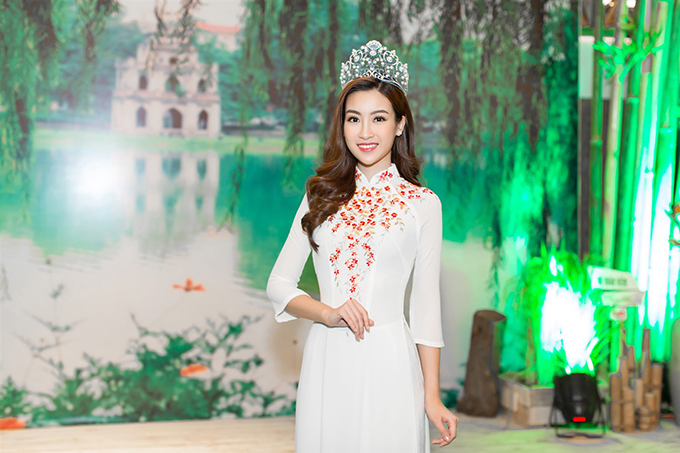Đỗ Mỹ Linh đẹp nổi bật bên Hoa hậu Hoàn vũ Lào và Hoa hậu Toàn cầu Campuchia - Ảnh minh hoạ 7