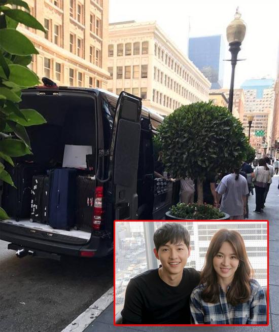 Song Hye Kyo có thể chọn thung lũng Napa để chụp ảnh cưới