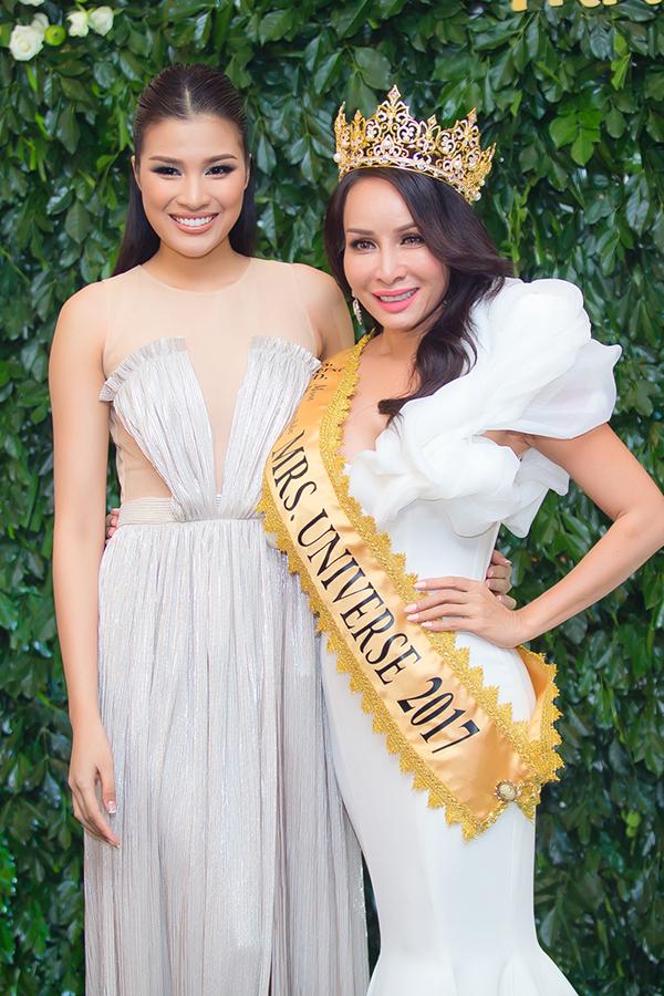Nguyễn Thị Thành mừng người Việt đầu tiên đăng quang Hoa hậu Quý bà Hoàn vũ Thế giới