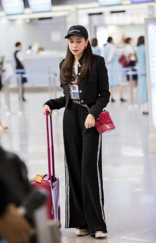Hoa hậu Lam Cúc khoe sắc trong chuyến bay tới Hàn Quốc - Ảnh minh hoạ 2
