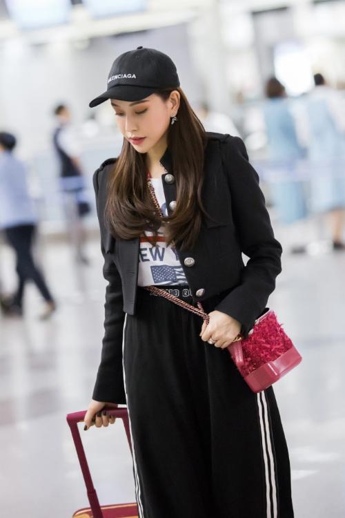 Hoa hậu Lam Cúc khoe sắc trong chuyến bay tới Hàn Quốc - Ảnh minh hoạ 5