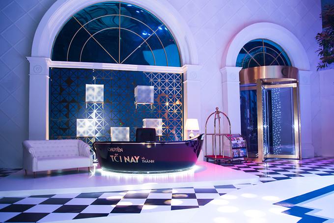 Sân khấu show truyền hình mang tên Trấn Thành lung linh như khách sạn 5 sao