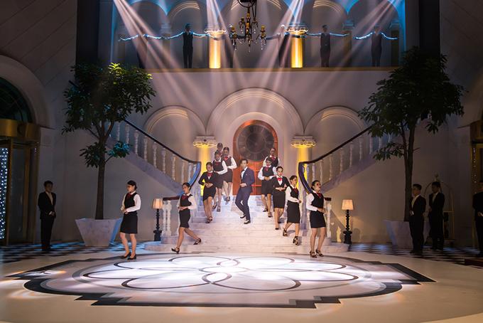 Sân khấu show truyền hình mang tên Trấn Thành lung linh như khách sạn 5 sao - Ảnh minh hoạ 3