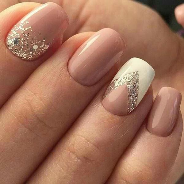 10 mẫu móng lấp lánh cho các quý cô điệu đà - ảnh 3
