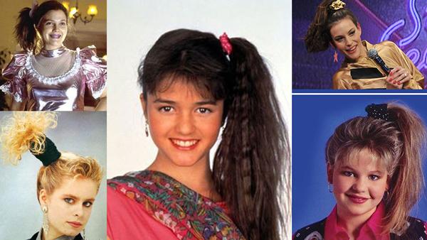 Những chiếc chun buộc tóc làm từ vải, đa phần là vải nhung hoặc len, là phụ kiện làm đẹp quen thuộc của phái đẹp thập niên 90.