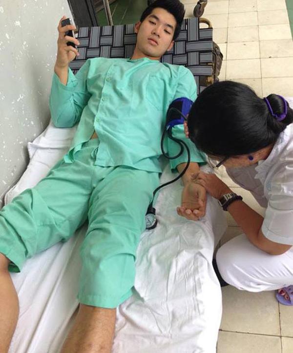 Những chấn thương của sao Việt trên phim trường - Ảnh minh hoạ 4