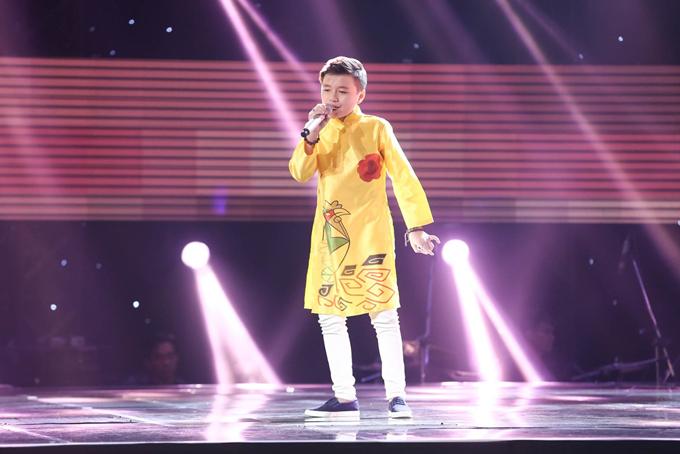 Giọng ca nhí khiến Soobin Hoàng Sơn nổi da gà, nhảy lên ghế vì phấn khích - Ảnh minh hoạ 7