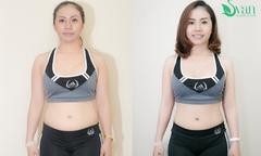 Chuyên viên trang điểm thay mới tủ quần áo sau một tuần giảm béo