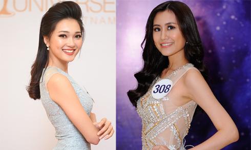 10 nhan sắc đầu tiên vào bán kết Hoa hậu Hoàn vũ Việt Nam 2017