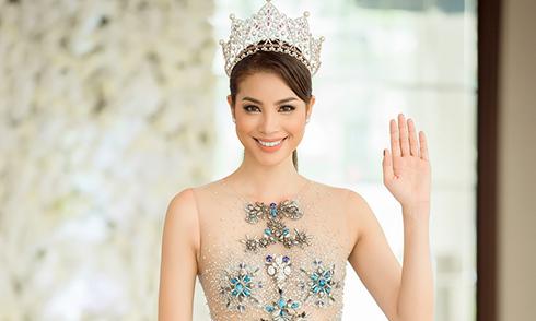 """Phạm Hương quyền lực làm host """"Tôi là Hoa hậu Hoàn vũ Việt Nam"""""""