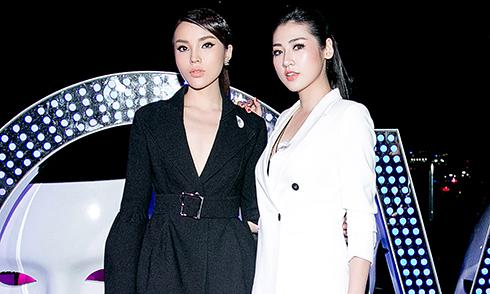 Hoa hậu Kỳ Duyên, Á hậu Tú Anh hội ngộ ở Sài Gòn