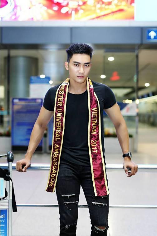 Lương Gia Huy thi Nam vương Đại sứ Hoàn vũ 2017 - Ảnh minh hoạ 3