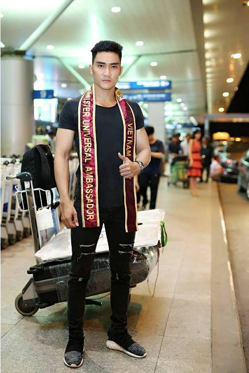 Lương Gia Huy thi Nam vương Đại sứ Hoàn vũ 2017