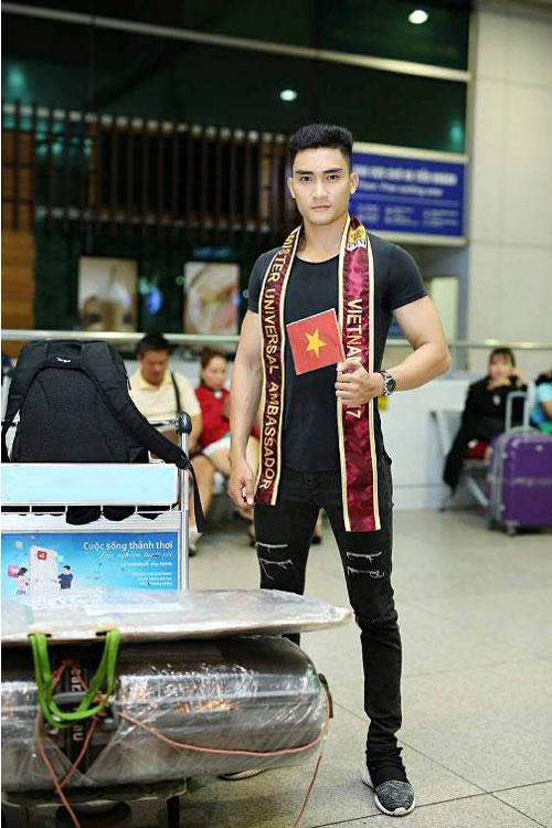 Lương Gia Huy thi Nam vương Đại sứ Hoàn vũ 2017 - Ảnh minh hoạ 6