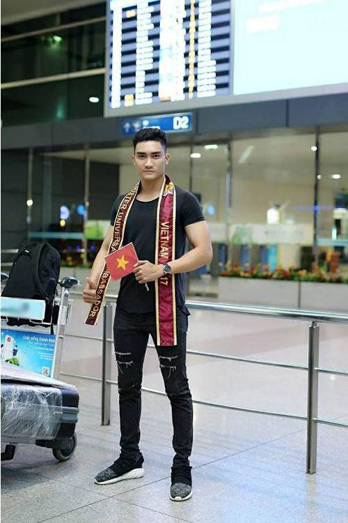Lương Gia Huy thi Nam vương Đại sứ Hoàn vũ 2017 - Ảnh minh hoạ 5