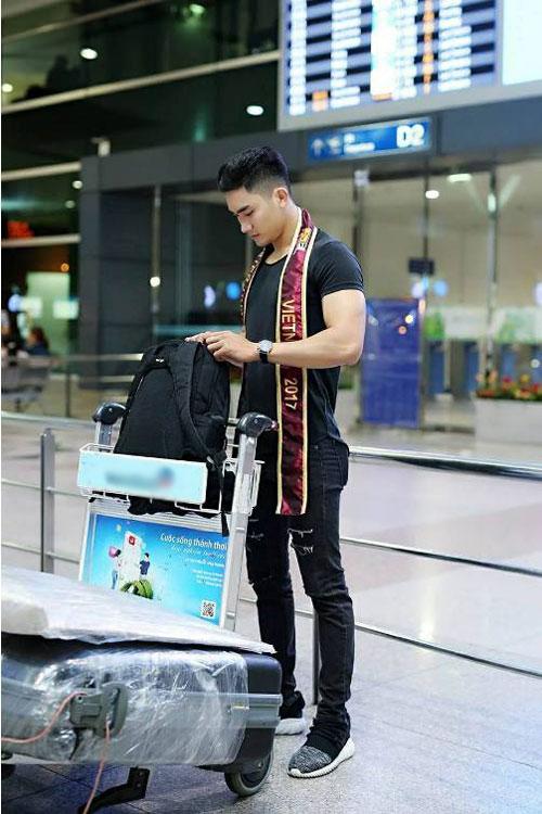 Lương Gia Huy thi Nam vương Đại sứ Hoàn vũ 2017 - Ảnh minh hoạ 4