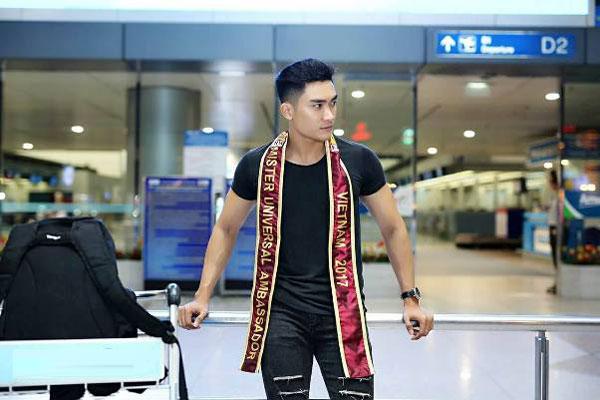 Lương Gia Huy thi Nam vương Đại sứ Hoàn vũ 2017 - Ảnh minh hoạ 2