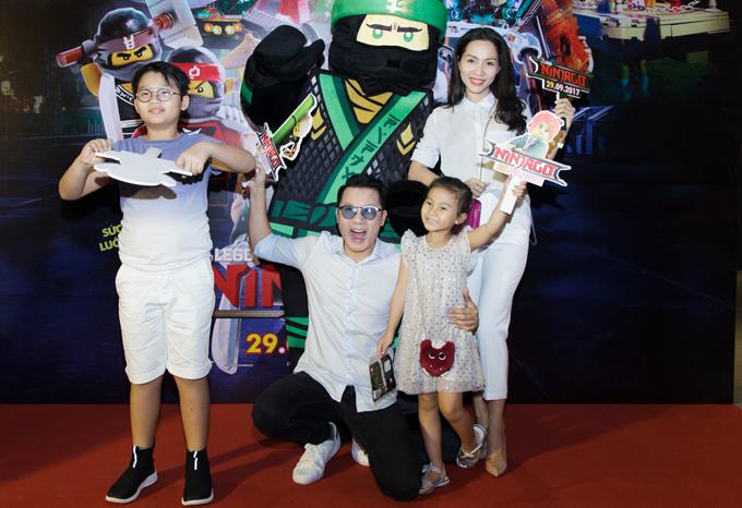 Ốc Thanh Vân, Minh Hà vất vả trông nom các con tại event - Ảnh minh hoạ 5