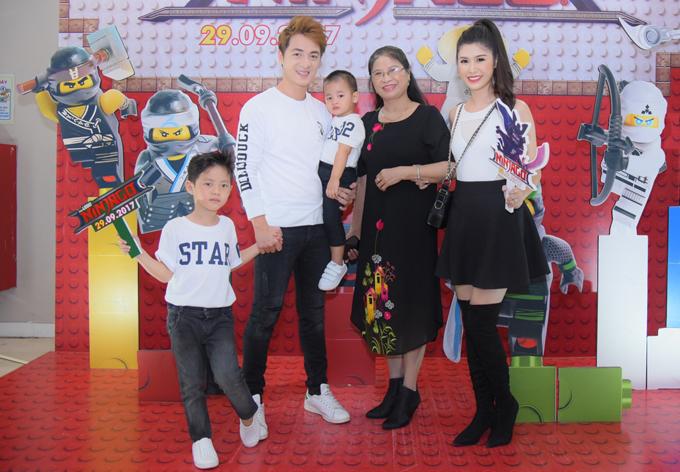 Ốc Thanh Vân, Minh Hà vất vả trông nom các con tại event - Ảnh minh hoạ 6