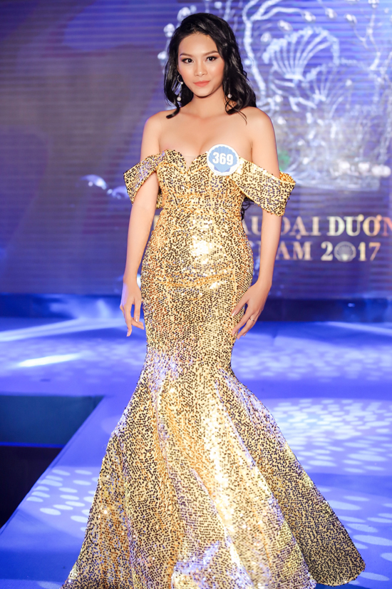 Con gái diễn viên Kiều Trinh vào chung kết Hoa hậu Đại dương 2017