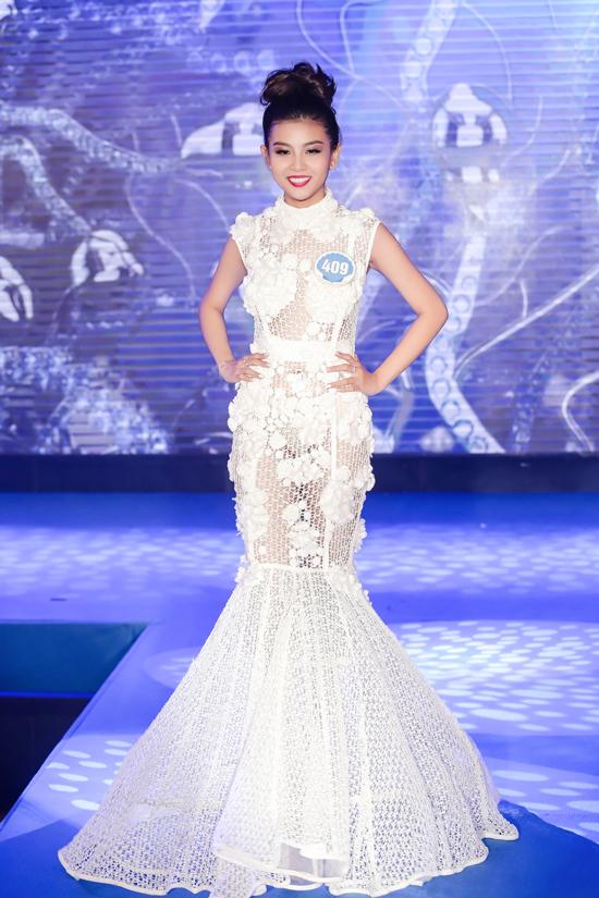 Con gái diễn viên Kiều Trinh vào chung kết Hoa hậu Đại dương 2017 - Ảnh minh hoạ 11