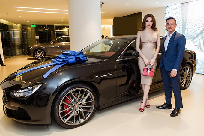 Hồ Ngọc Hà là người đầu tiên sở hữu xe thể thao Maserati giá 7 tỷ đồng ở Việt Nam