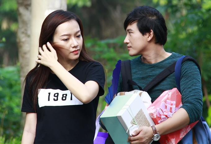 Băng Di chơi khăm, tát Hà Trí Quang méo mặt trong phim mới - Ảnh minh hoạ 5
