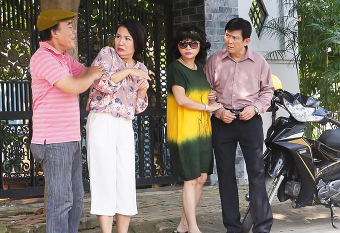 Băng Di chơi khăm, tát Hà Trí Quang méo mặt trong phim mới - Ảnh minh hoạ 6