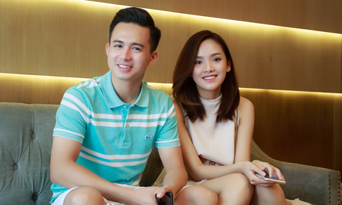 """Top 10 Hoa hậu Việt Nam Tố Như lần đầu khoe vị hôn phu là """"hot boy cảnh sát"""""""