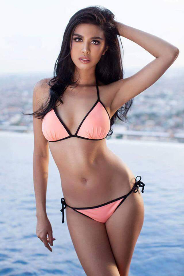 Hoa hậu Indonesia Ariska Putri Pertiw.