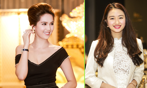 Ngọc Trinh mang phụ kiện gần 2 tỷ, nổi bật hơn cả Hoa hậu Thu Ngân