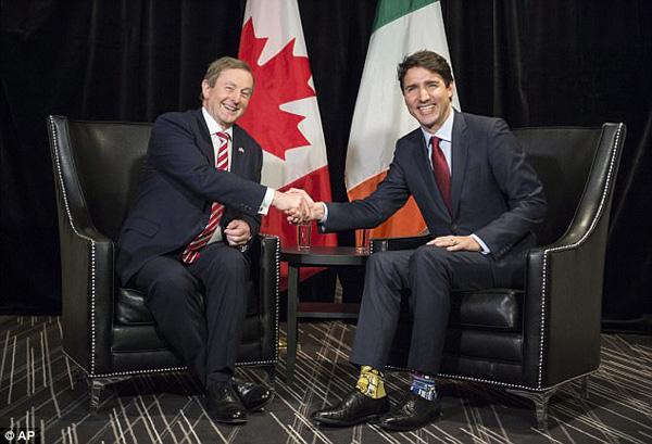 Hồi tháng 5, ông Trudeau