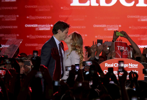 That same year, Sophie said of Justins potential career in politics: I know that it may be a path and it may not. To me, its too far away to put myself emotionally in that situation.  She was beaming, however, when he was elected to lead Canada in 2015, becoming the countrys second-youngest prime minister.