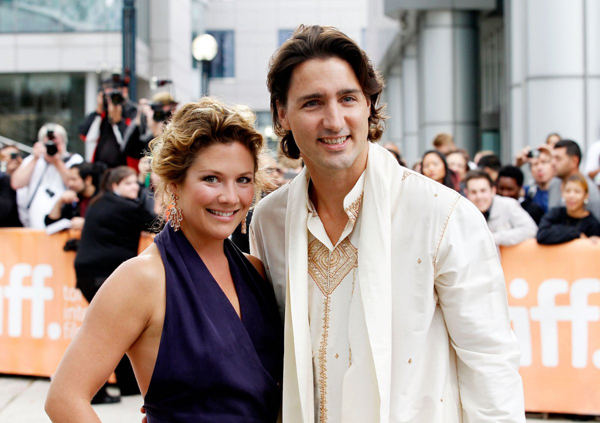 She has been by his side through everything, from meeting world leaders like Michelle and Barack Obama ... to welcoming Prince William and Kate Middleton on their royal visit to Canada ... and even to meeting the Queen. Sometimes her duties are a bit more lighthearted, like attending film premieres.